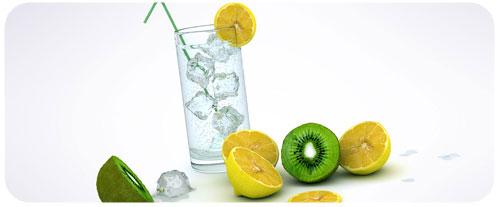 Le citron peut s'associer à d'autres fruits